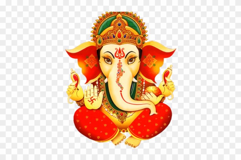 Brown Ganesha abstract logo, Ganesha Wedding invitation Deity , hinduism  transparent background PNG clipart | HiClipart