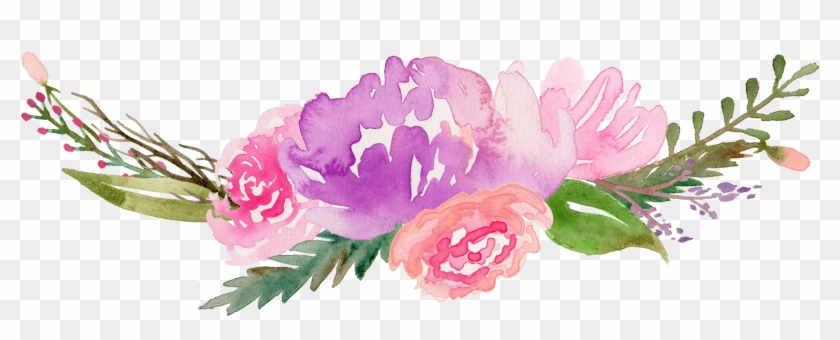 photograph relating to Free Printable Watercolor Pictures to Paint titled Watercolor Bouquets Clipart - Watercolor Flower Absolutely free