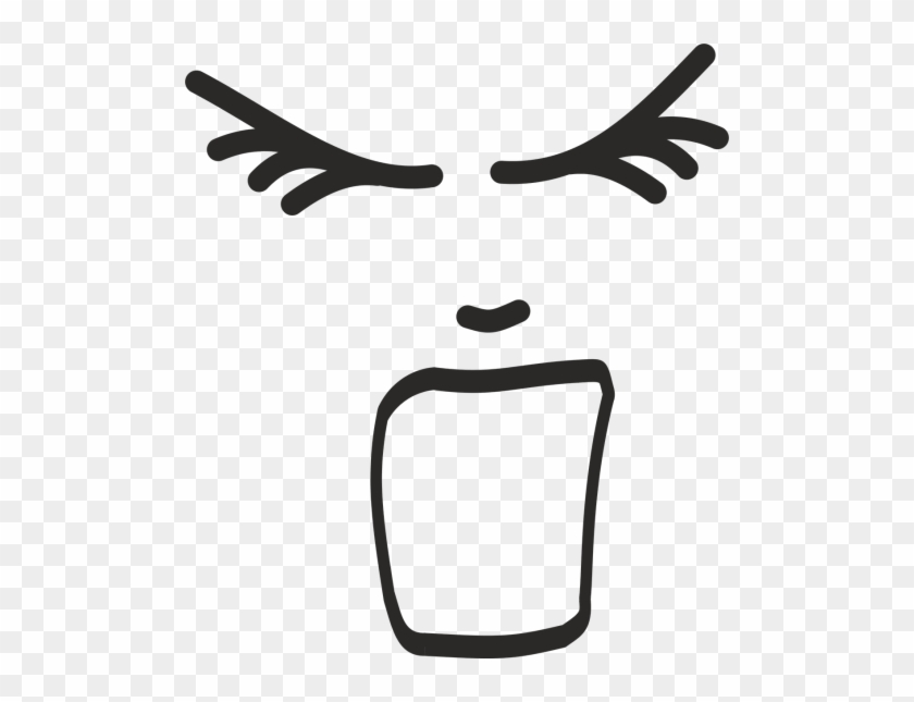Screaming Face Clipart #1631386