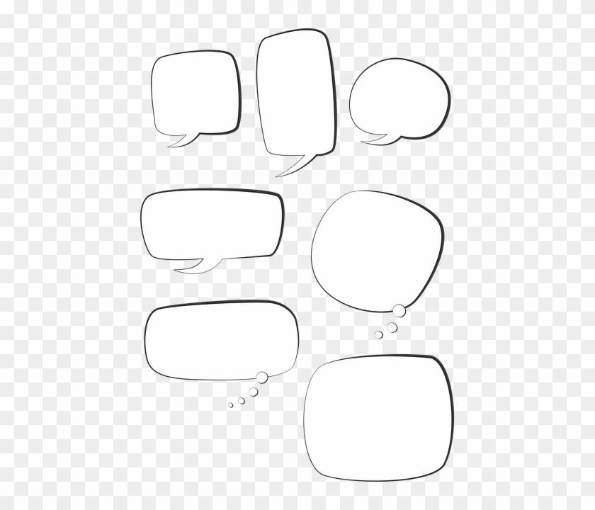 Speech Bubble Text Box Talk Bubble Chat
