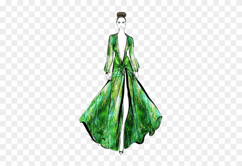 Clipart Transparent Stock Fashion Design Course Syllabus Jennifer Lopez Dress Drawing Free Transparent Png Clipart Images Download