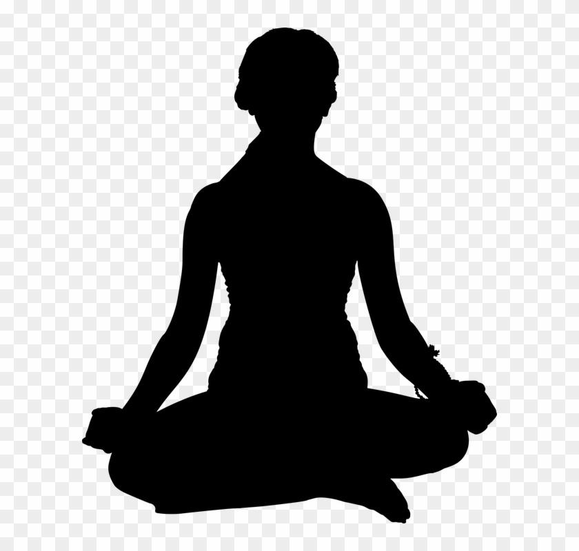 Meditation Clipart Silhouette Yoga Pose Silhouette Png Free Transparent Png Clipart Images Download