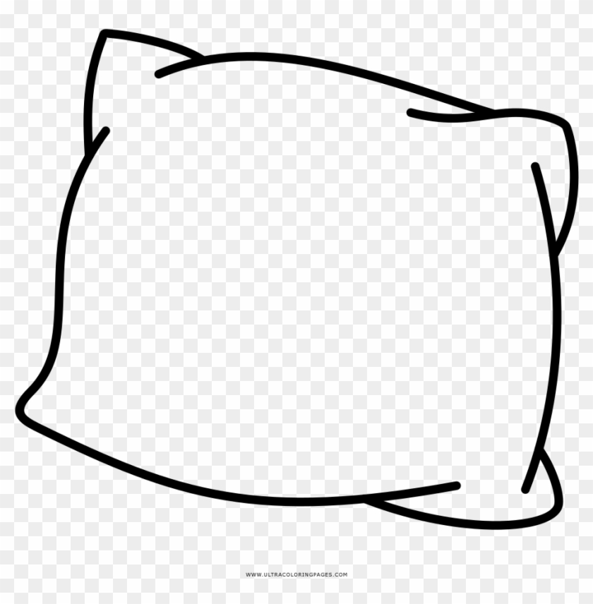 Sweet Looking Pillow Coloring Page Bed Ultra Pages Disegni Da