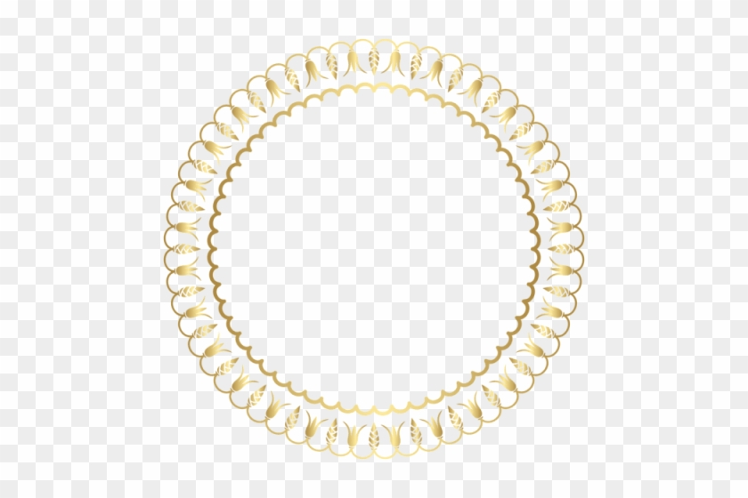 Free Png Download Decorative Round Border Frame Png - Chinese Frame Circle Png #1634369