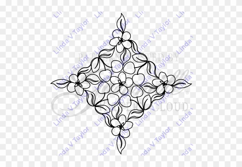 Lt 2232 Cherry Blossom Wedding Ring - Christmas Tree #1634373