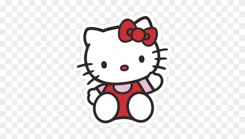 500 X 500 19 - Hello Kitty Saying Hi #1634923