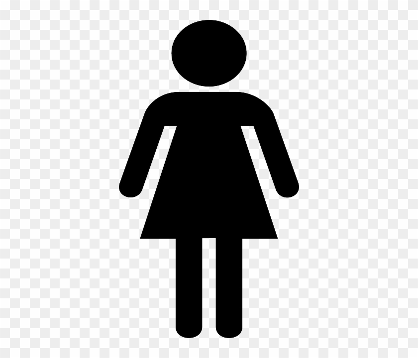 Woman Stick Figure Clipart #1636248