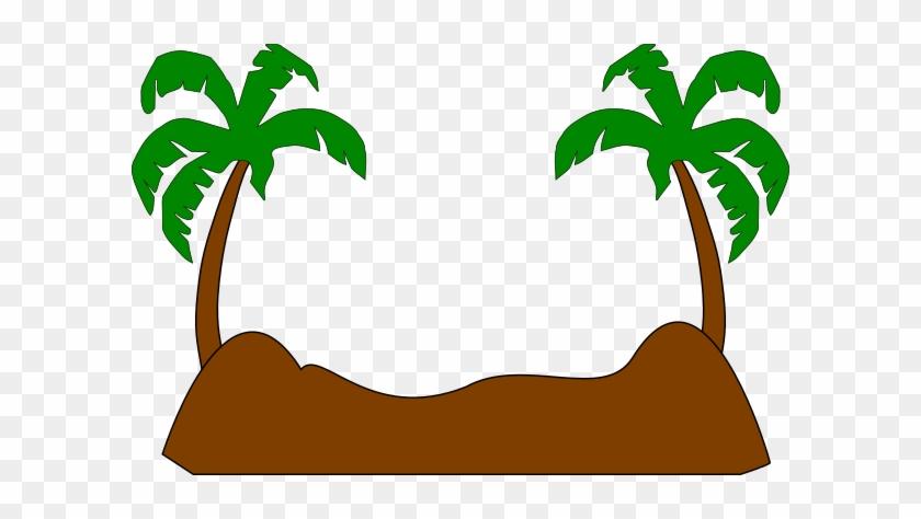 Palm Tree Beach Silhouette #1636368