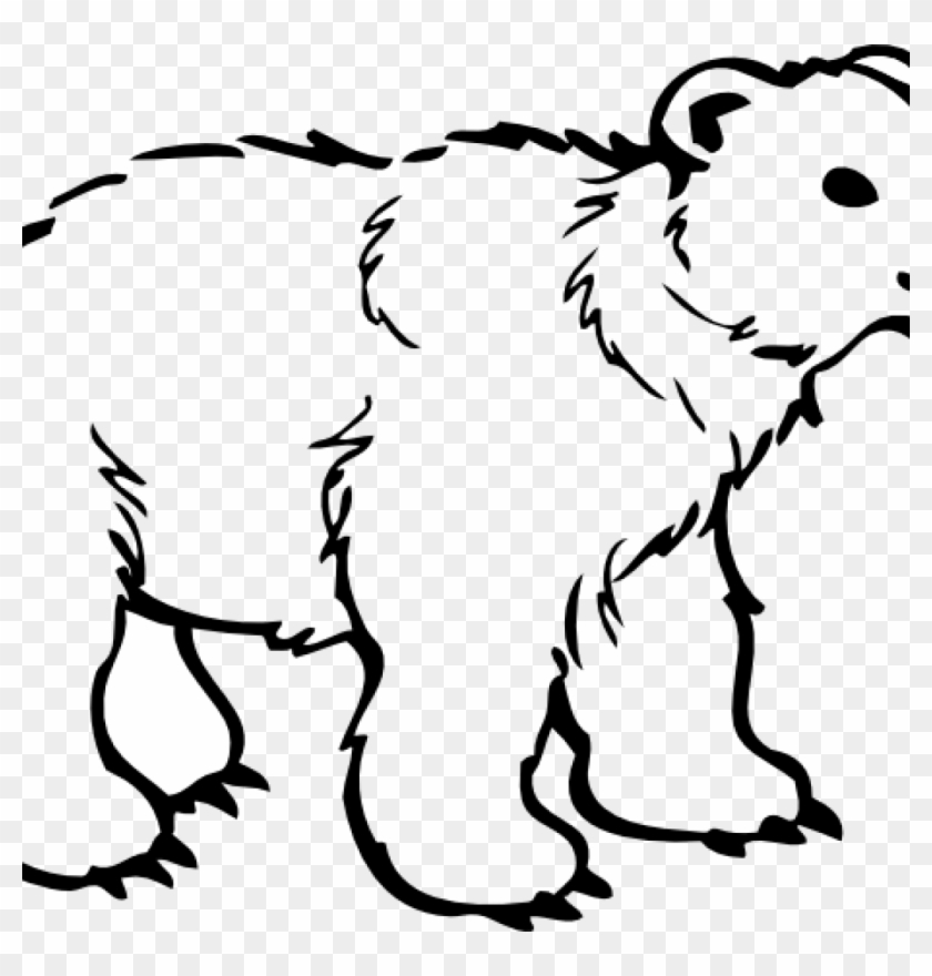 Polar Bear Clipart Free 19 Polar Bear Graphic Free Polar Bear Black And White Free Transparent Png Clipart Images Download