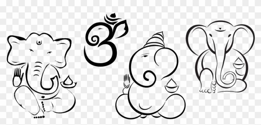 Clipart Mouse Ganesh Line Drawing Simple Ganesh Free Transparent Png Clipart Images Download Lord ganesh paper craft art. clipart mouse ganesh line drawing