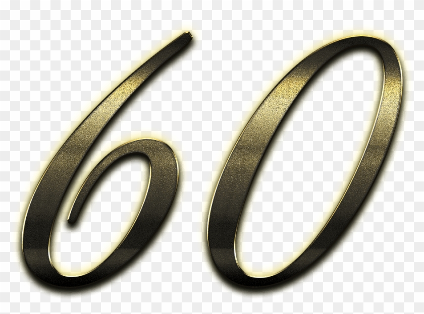 Цифра 60 на открытках