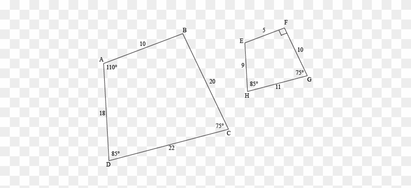 Polygon Clipart Labeled - Two Polygons That Are Similar But Could #1639264