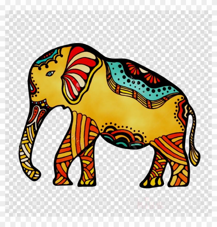Indian Elephant Clipart Indian Elephant African Elephant - Indian Elephant #1640848