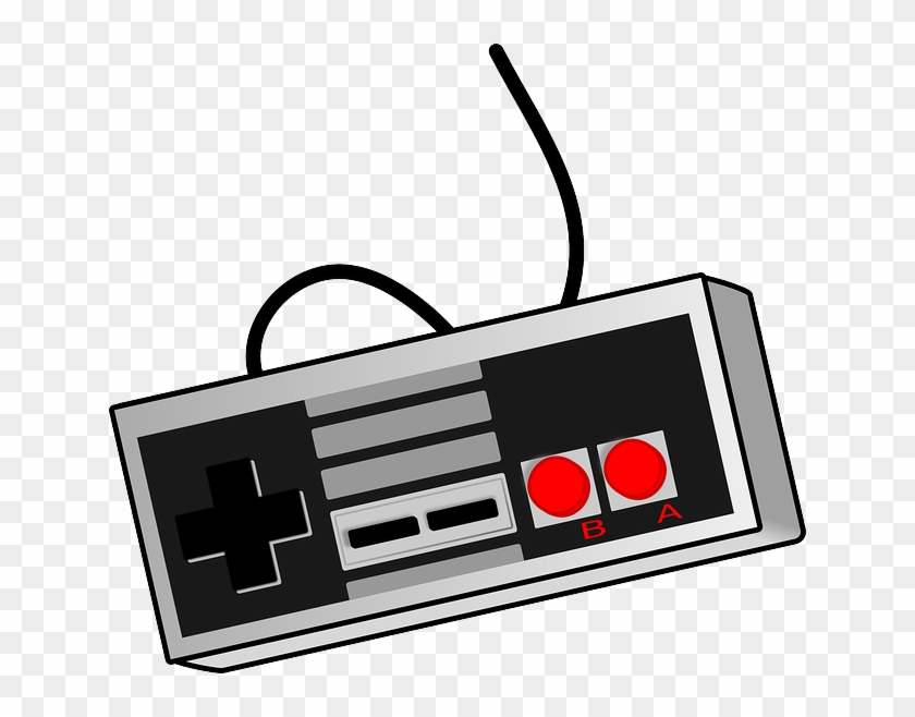 Our Favorite Video Games - Retro Game Controller Png - Free