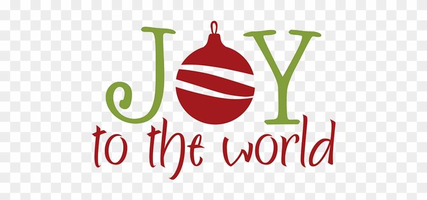 Celebrate Christmas Joy At Oxford Umc - Clip Art Joy To The World #1641789