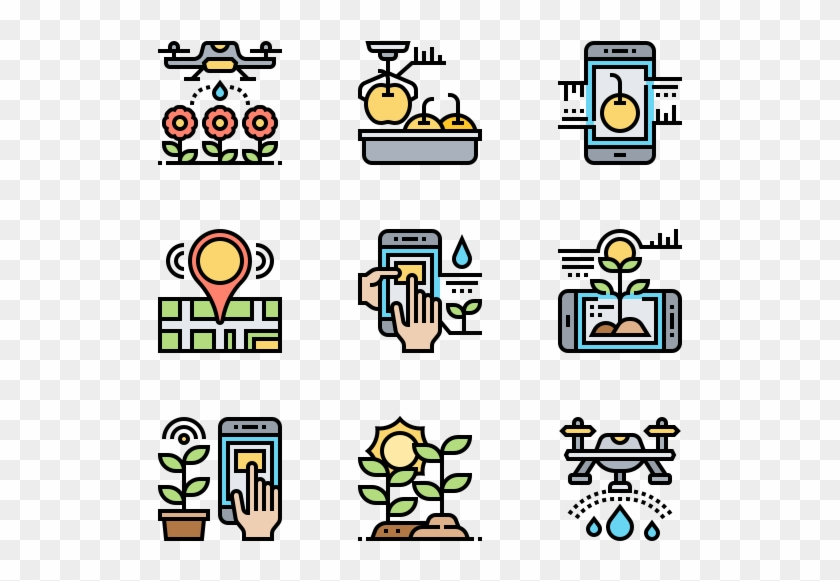 Smart Farm - Giving Hand Icon Png #1644339