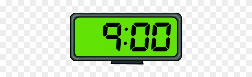 In An Effort To Inspire On-time Attendance, We Will - 9 00 Am Alarm Clock #1645190