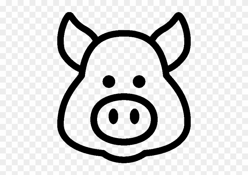 Astrology Year Of Pig Icon Ios 7 Iconset Icons8 Show - Pig Icon Transparent Png #1645751