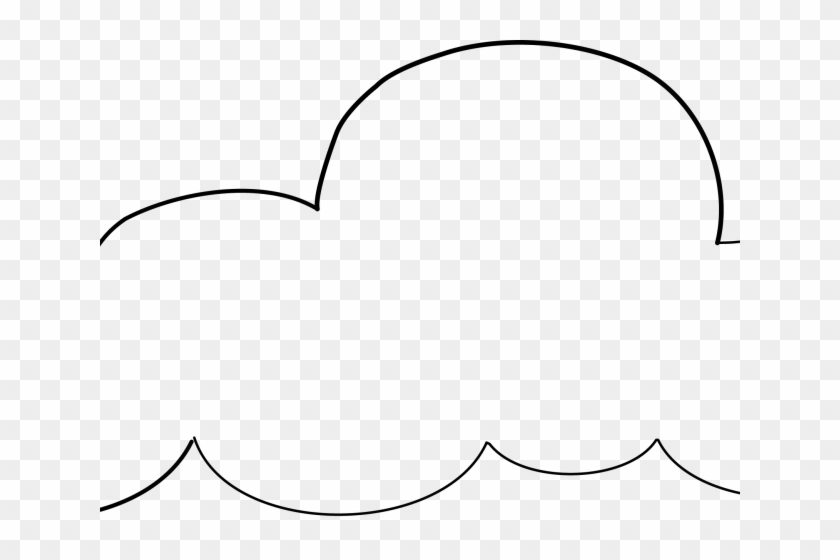 picture relating to Cloud Printable identify Cloud Clipart Printable - Line Artwork - No cost Clear PNG