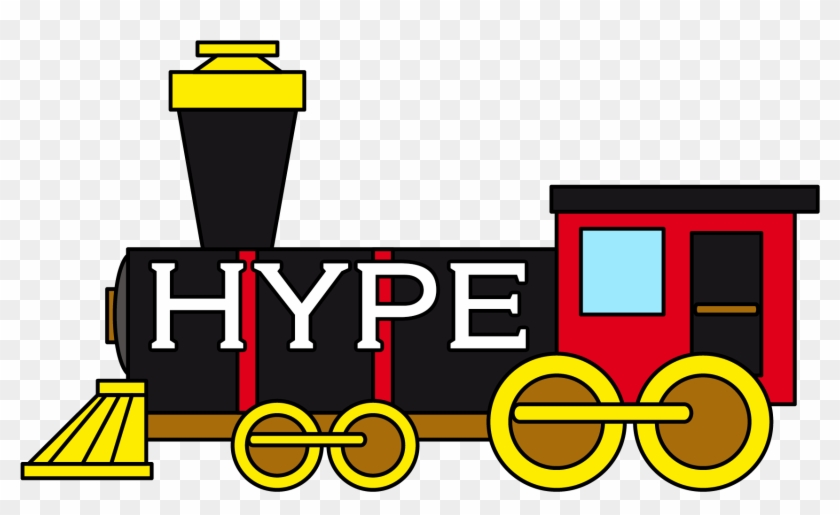 The Hype Train - Clipart Of Train #1647833