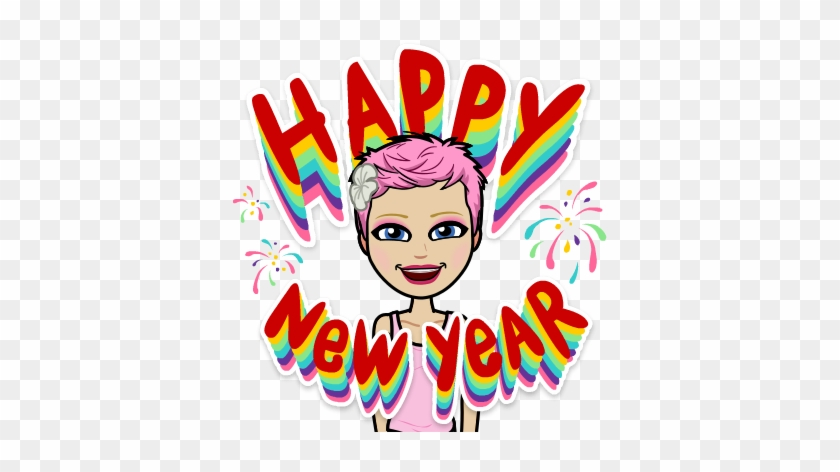 Comprehensible Online Year 2 - New Year 2019 Bitmoji #1648939