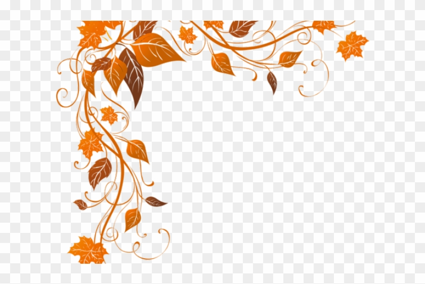 Decorations Clipart Autumn - Border Corner Frame Png #1649112
