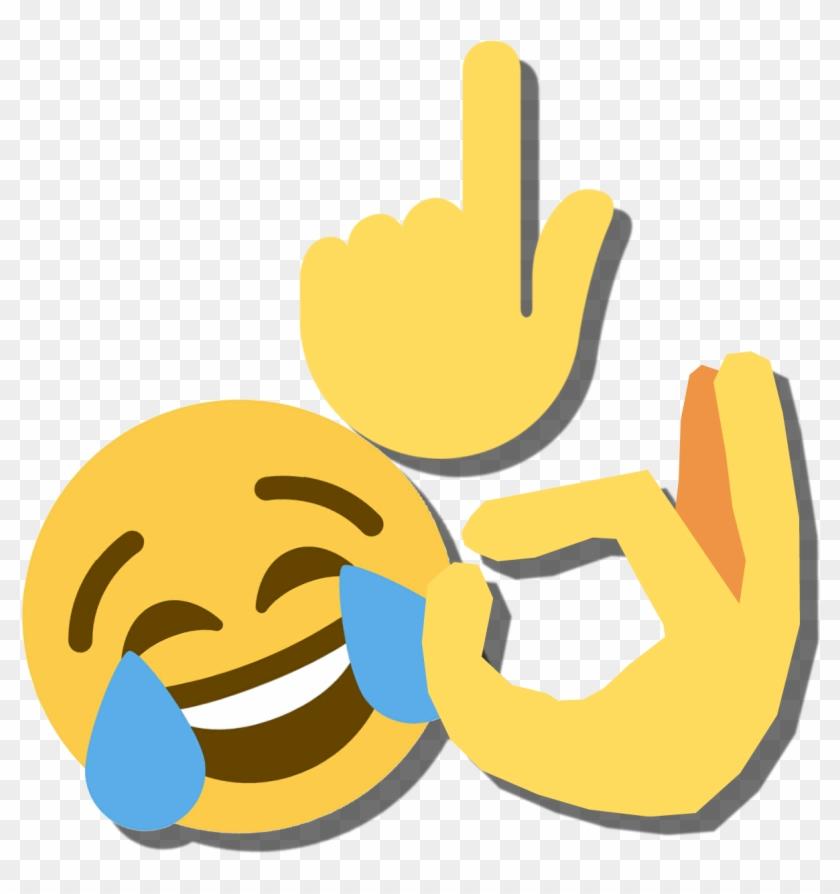 Free Png Download Laughing Crying Tears Emoji Tee Shirt - Laughing