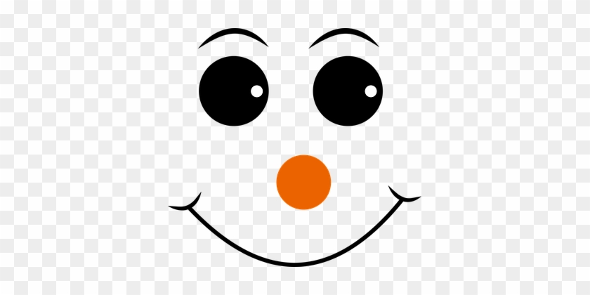 picture relating to Printable Smiley Face called Pink Nosed, Smiley, Deal with, Emoji, Emoticon - Snowman Experience