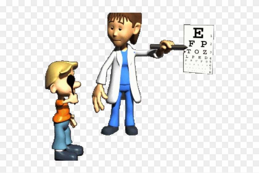 Animation Clipart Nurse Eye Check Up Gif Free Transparent Png Clipart Images Download