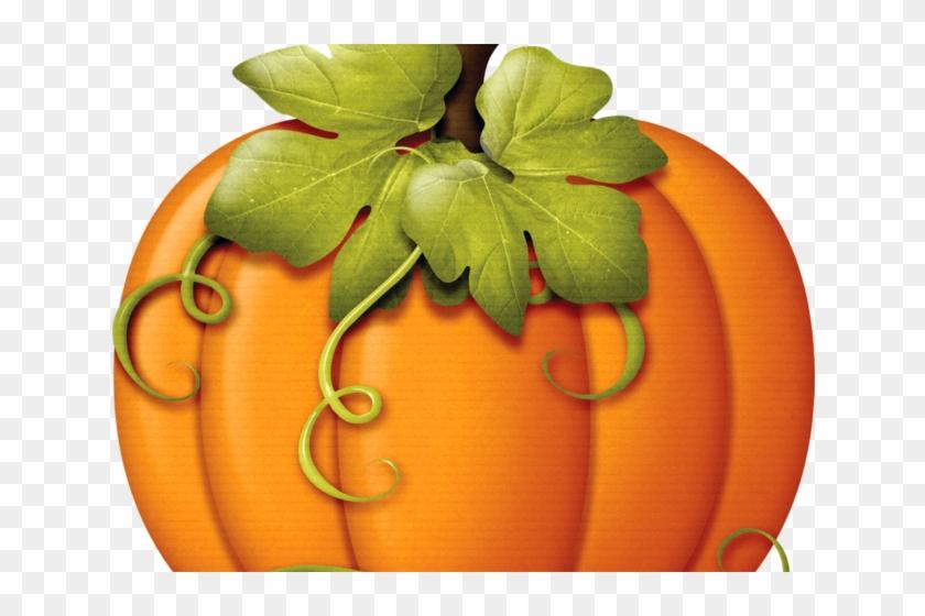 Fall Clipart Fancy - Pumpkin Fall Clip Art #1649643