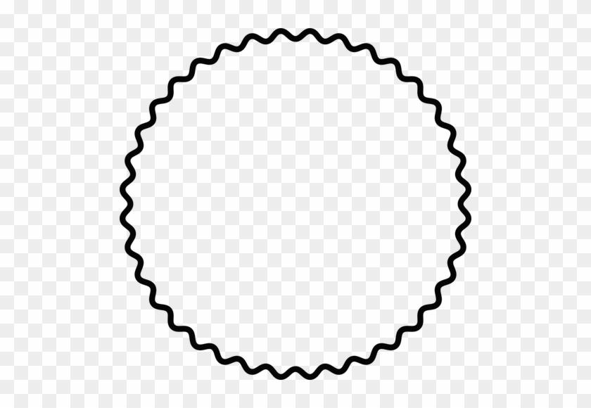 Scallop Frame Public Domain Vectors Rh Publicdomainvectors