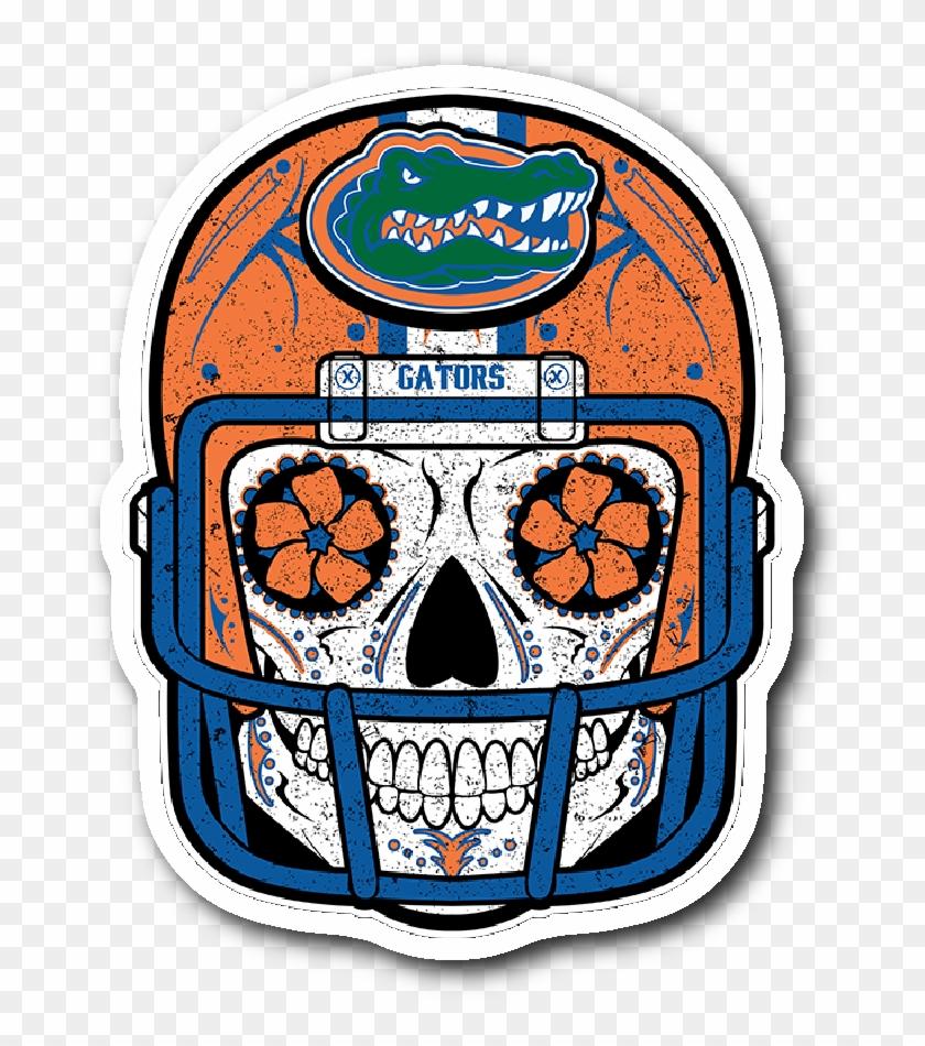 Gator Clipart Simple - Florida Gators Sugar Skull #1651667