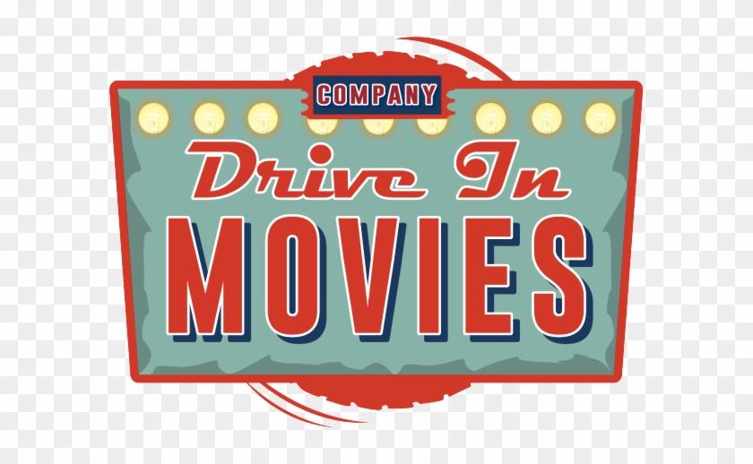 Candy Bar Clipart Movie Theatre - Drive In Movies Transparent #1651751