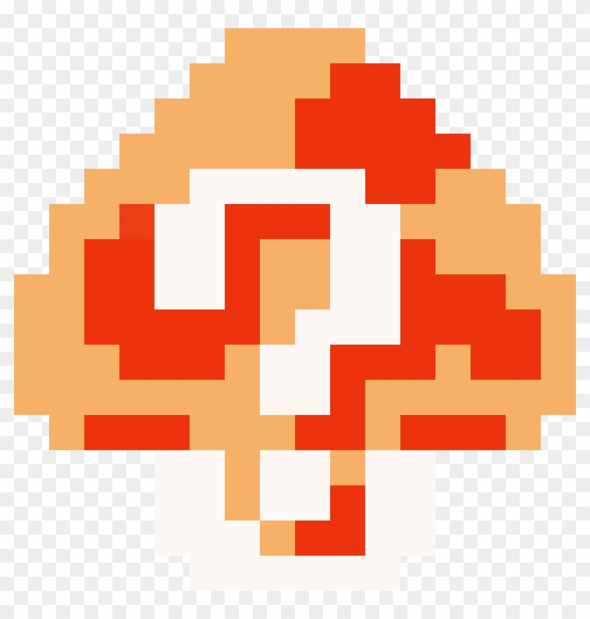 Super Mario Clipart Mystery Number Super Mario Maker Mystery Mushroom Free Transparent Png Clipart Images Download