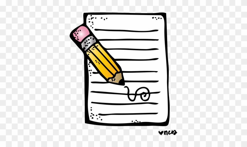 Melonheadz Writing Clipart #1654505