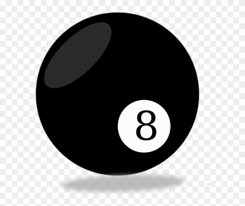 8 Ball - Pool 8 Balls Vector #254494