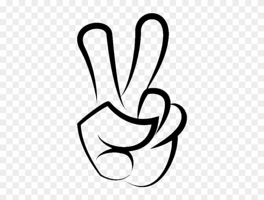 Dopo Aver Ascoltato Frammenti Di Una Mezza Dozzina - Clipart Victory Finger Sign #254501