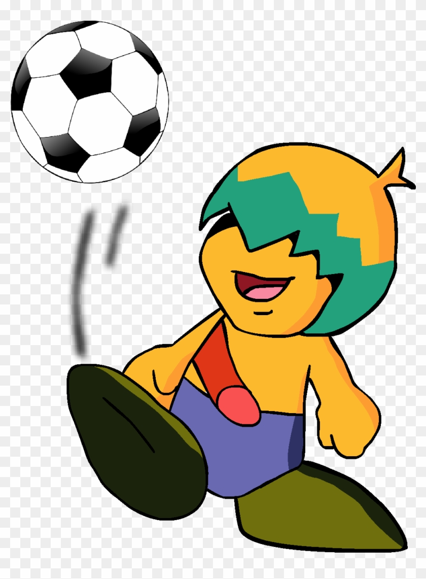 Play Football By Kingasylus91 On Clipart Library - Soccer Ball Tote Bag, Adult Unisex, Natural #254904