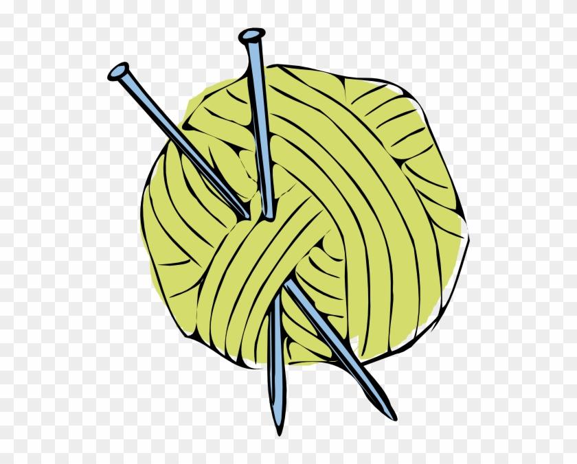 Yarn Ball And Needles #255002