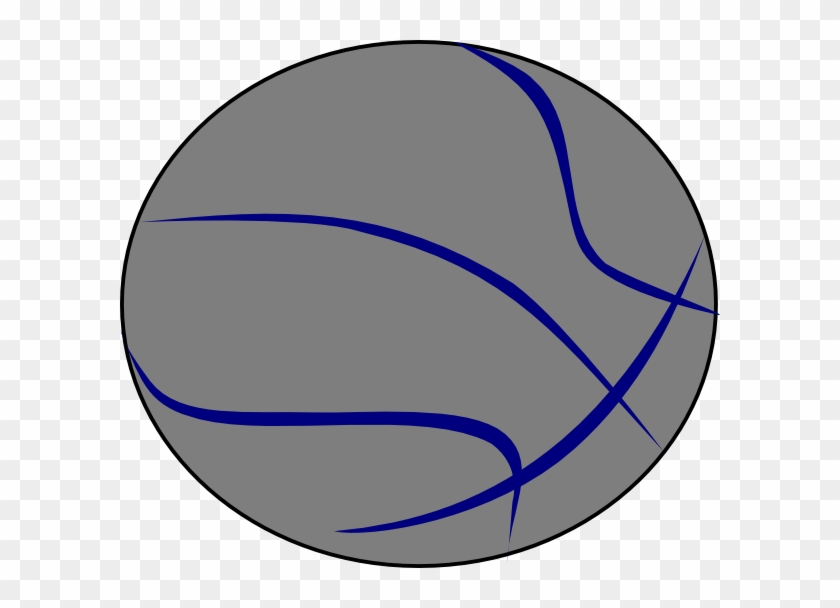 Grey Blue Basketball Clip Art At Clker - Raytown South High School #255007