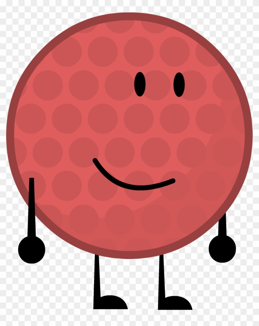Red Golfball By Brownpen0 - Bfdi Red Golf Ball #255062