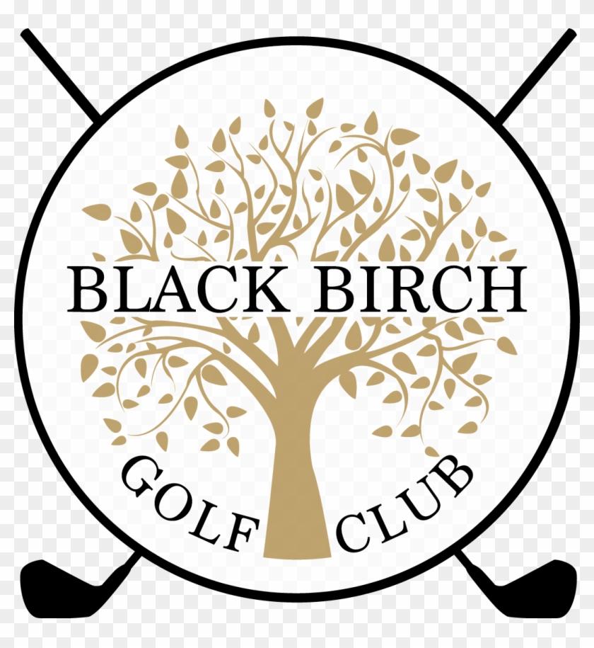 Black Birch Golf Club - Stickalz Llc Tree And Leaves Vinyl Wall Art Decal Sticker #255094