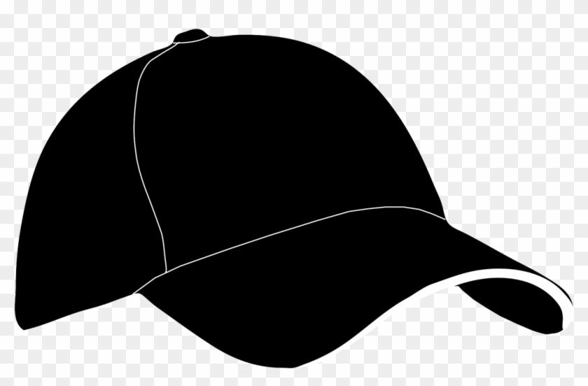 Baseball Hat Clipart - Baseball Cap Silhouette #255122