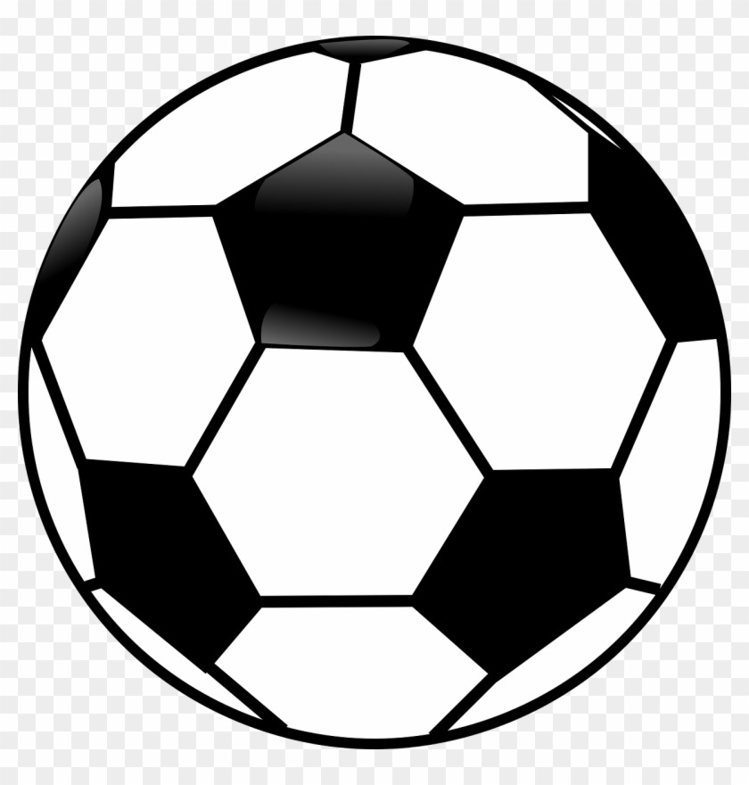 Sports Clipart Black And White Black And White Soccer Black And White Soccer Ball Free Transparent Png Clipart Images Download