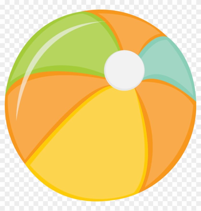 Praia E Piscina - Swimming Pool Ball Clip Art #255303