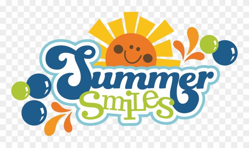 Summer Clipart Summer Vacation Scrapbook Titles Free Transparent