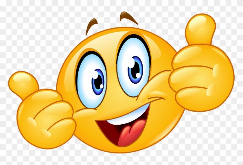 Smiley Png - Thumbs Up Emoji Png #255523