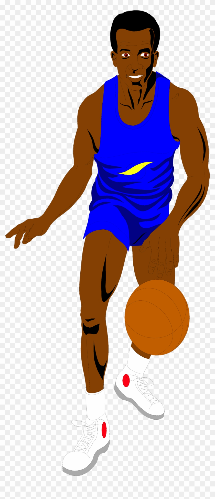 Basketball - Dunking - Basketball Player Clipart Transparent Background #255588