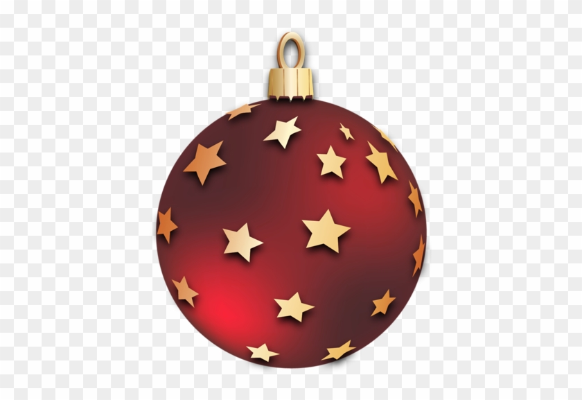 transparent red christmas ball with stars ornament red christmas