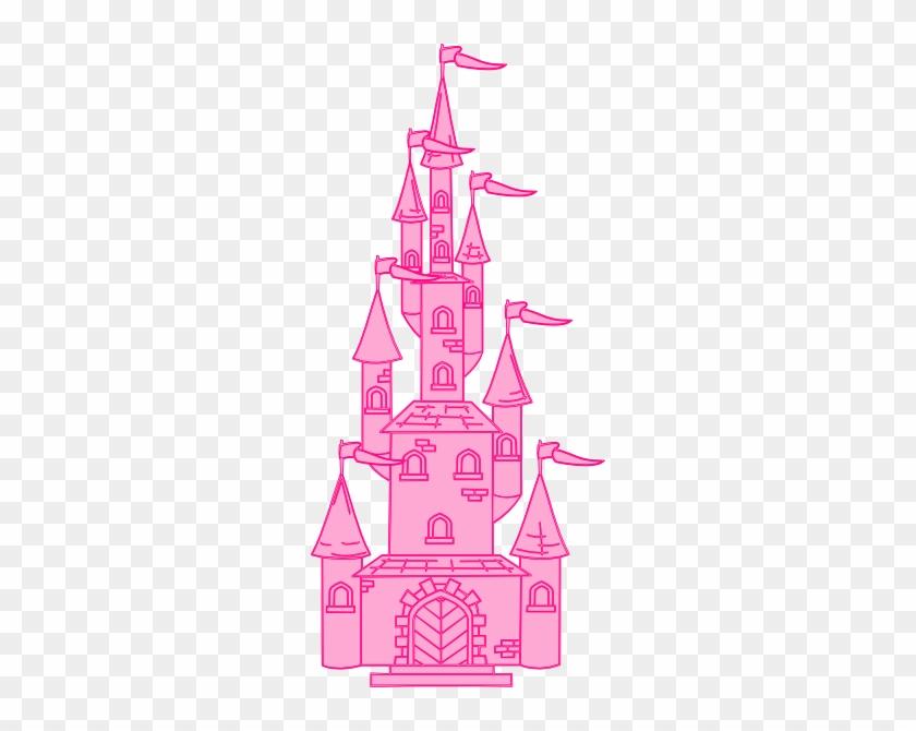 Princess Castle Clip Art #255796